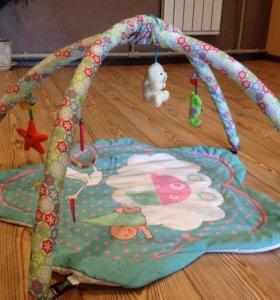 Развивающий коврик (с игрушками)