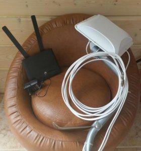 Роутер и антена