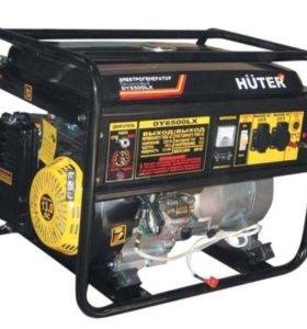 Бензиновый генератор Huter (Хутер) DY6500LX