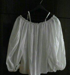 Блуза летняя на брительках