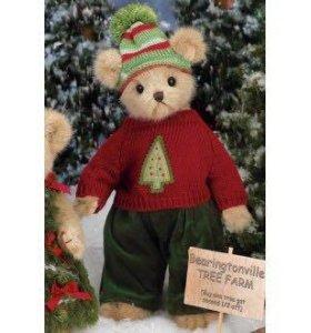 Мишка Bearington Christmas Tree мальчик
