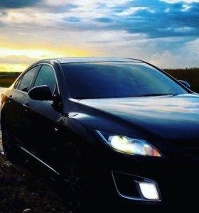 Съемная тонировка передних стёкол на Mazda 6 GH