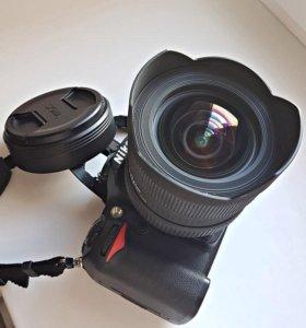 Nikon D7000 +Sigma AF 12-24mm f/4.5-5.6 DG HSM