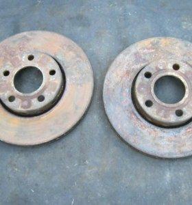 диски тормозные передние вентилируемые ауди а4