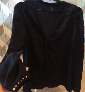 Шелковая блуза MANGO новая