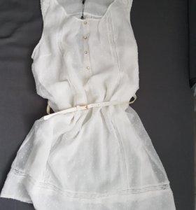 Новое платье с ремешком 48-50