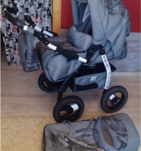Детская коляска трансформер Teddy Diverte Collecti