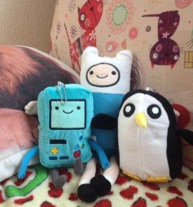 """Мягкие игрушки серии """"Adventure Time"""""""