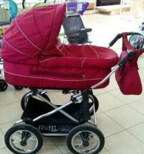 Поддержанная коляска-люлька Milli