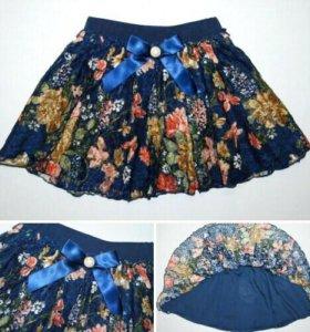 Новая юбка детская