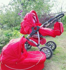 Коляска Adamex Zeix 2в1, и еще 1 коляска в подарок