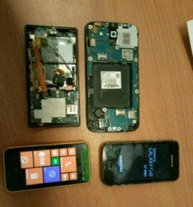 Сотовые телефоны (5 шт)