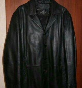 Кожаная куртка 54-56 размер