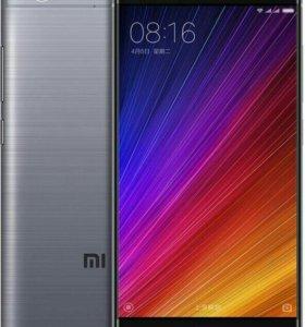 Xiaomi mi 5s 64 Gb черного цвета
