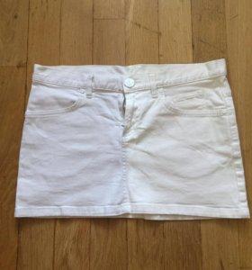 Юбка джинсовая короткая divided