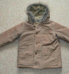 Курточка на рост 110-116 см