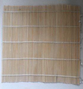 Бамбуковый коврик для приготовления суши
