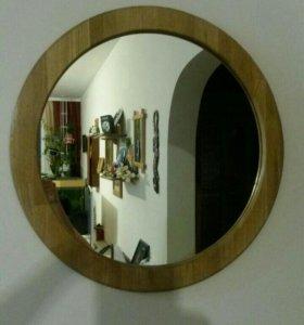 Продаю зеркало рама из дуба.