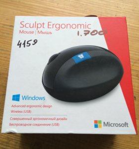 Мышь microsoft sculpt ergonomic l6v-00005 wireless