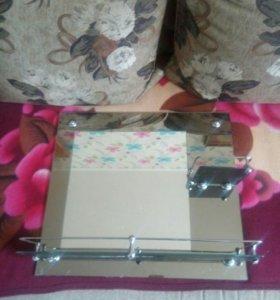 Зеркало для ванной комнаты 500×450
