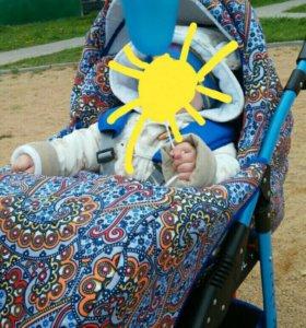 Детская коляска 2 в 1. Polmobil NEMO LUX