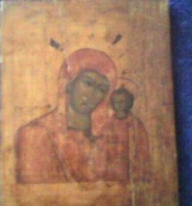 Икона Казанской бого матери