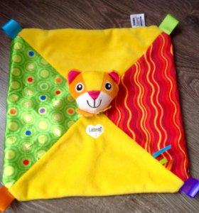Развивающая игрушка-платочек
