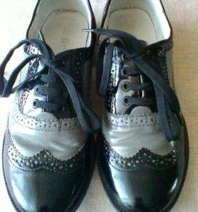 Туфли для мальчика( антилопа) 32р
