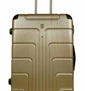 Пластиковый чемодан Luyida шампань L, Шоу-Рум