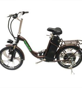 """Электровелосипед NAKTO 20"""" литые колеса"""