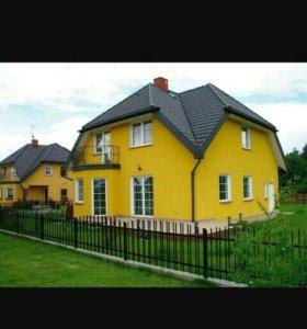 Покраска домов ,бань ,заборов ,и т.д