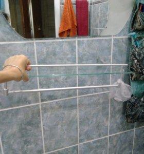 Полка новая для ванной