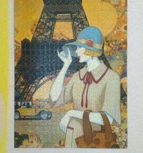 Картины из кусочков puzzle