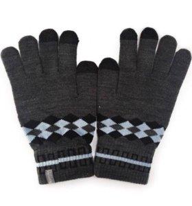 Перчатки для сенсорных экранов Human (Gray)