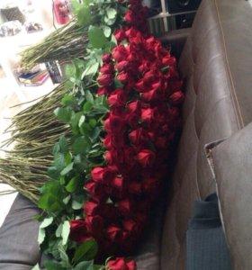 Розы на любой вкус 70 см