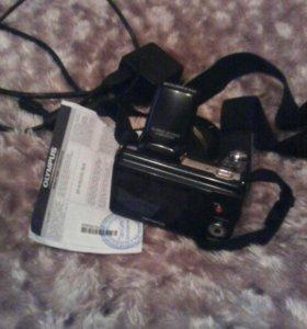 Фотоаппарт olympus 36кр зум,сегодня за 6000