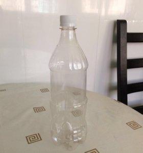 Бутылка ПЕТ 1л