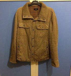 Куртка мужская демисезонная из микровельвета, S