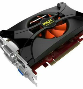 Видеокарта Nvidia GeForce gtx 460 palit