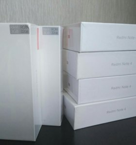 Новые Xiaomi Redmi Note 4 3/32 Gb Global
