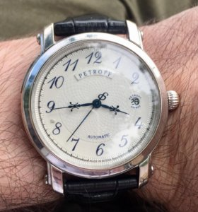 Золотые часы Petroff.1500 за грамм