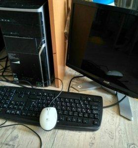 компьютер Aser+монитор 19
