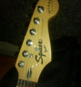 Эл.гитара fender squier