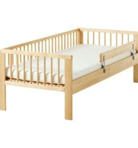 Детская кровать Икеа с матрасом