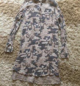 Новое платье милитари