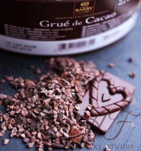 Дроблённые какао бобы