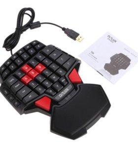 Игровая клавиатура Delux T9