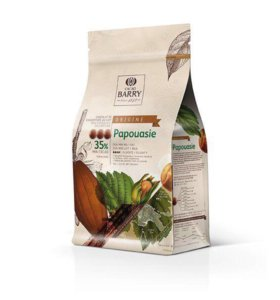 Origine Papouasie 35% молочный шоколад Cacao Barry