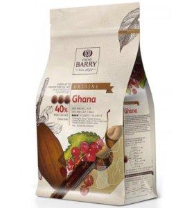 Origine Ghana 40% молочный шоколад Cacao Barry