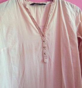Рубашка oversize ZARA